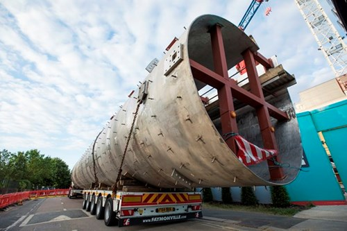 Giant steel vortex system delivered to Hammersmith Pumping Station